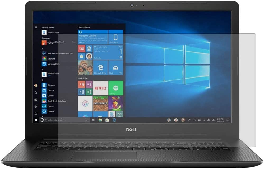 """PcProfessional Screen Protector (Set of 2) for Dell Inspiron 17 3000 Series 3793 17.3"""" Screen Laptop Anti Glare Anti Scratch"""