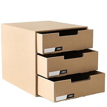 Home Host Papier Made Office Desktop Schublade Aufbewahrung Datei