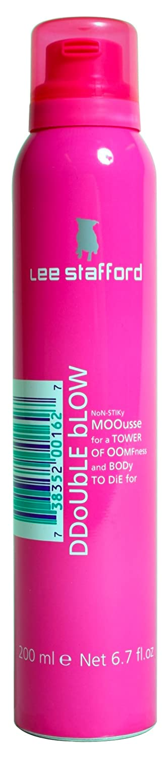 Lee Stafford Double Blow Volumizing Mousse, Increases Body & Volume 200ml QBC 200410