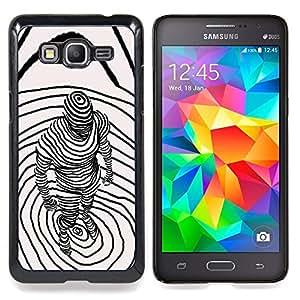 "S-type Abstract 3D Art Significado Profundo"" - Arte & diseño plástico duro Fundas Cover Cubre Hard Case Cover For Samsung Galaxy Grand Prime G530F G530FZ G530Y G530H G530FZ/DS"