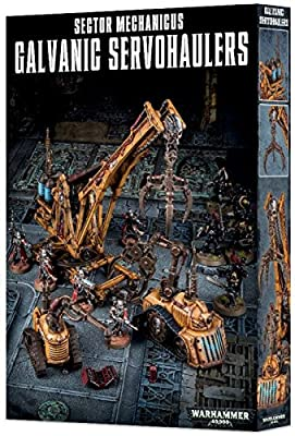 Warhammer 40K Shadow War Necromunda SECTOR MECHANICUS GALVANIC SERVOHAULERS by Games Workshop