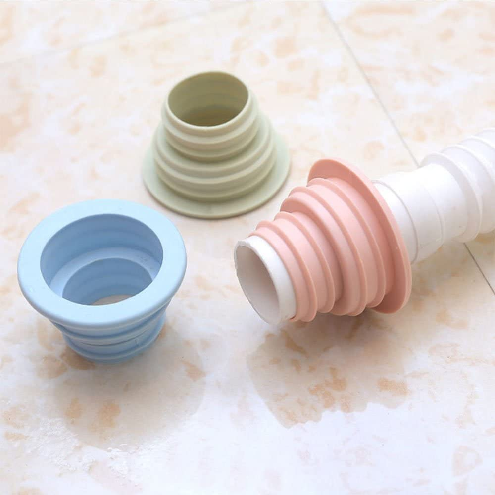 Pipe Seal Pool Floor Drain Sealing Plug Water Trap Pest Silicone Kitchen  In SK