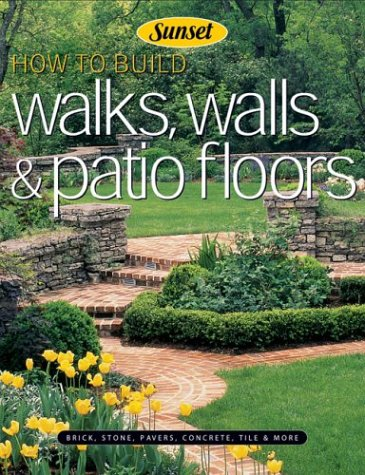 How to Build Walks, Walls & Patio Floors (Concrete Designs Brick Patio And)