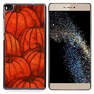 - Pumpkin Fall Halloween Orange Autumn - - Monedero pared Design Premium cuero del tir???¡¯???€????€???????????&