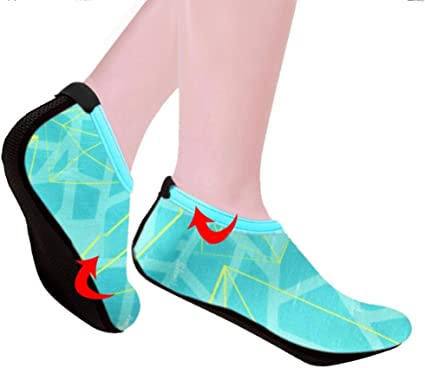 Beach Shoes Socks Soft Portable Hot Unisex Women Men Aqua Water Skin Footwear