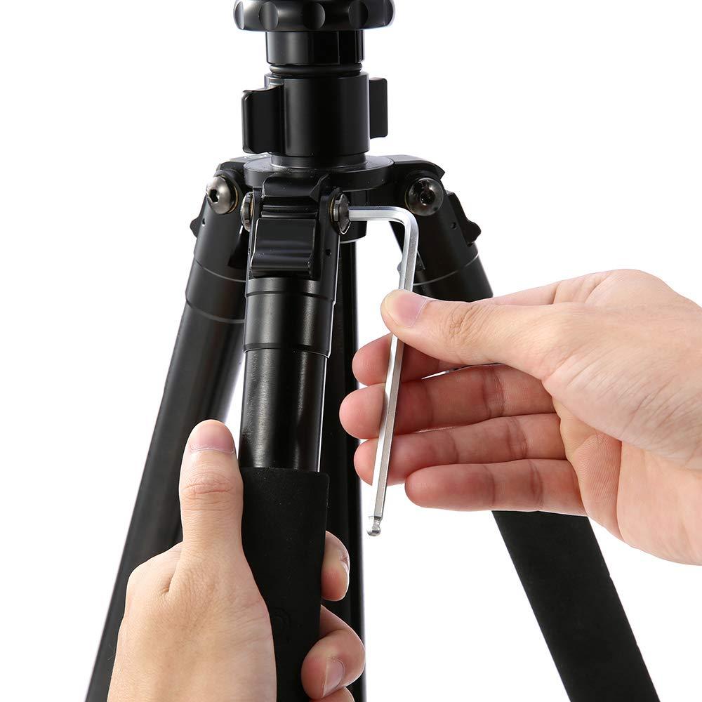 Meterk 36Pcs Hex Key Allen Wrench Set, Inch/Metric/Star, Long Arm Ball End Hex Key Socket Head Screw Wrench Multi-size Internal Hexagonal Spanner, Bonus Free Strength Helping T-Handle by Meterk (Image #8)