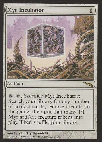 Myr Incubator (Magic the Gathering : Mirrodin #212 Rare)