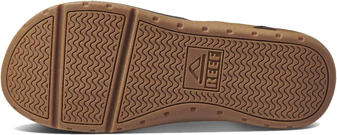 | REEF Leather Ortho-Spring Flip-Flop | Sandals