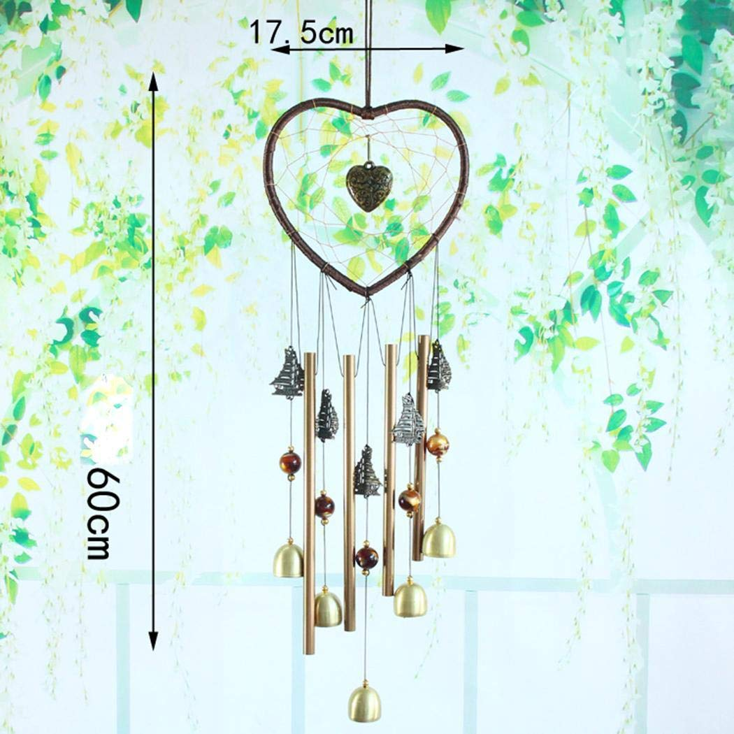 DREAMVAN Metal Wind Chimes Dreamcatcher Home Modern Art Decor Dream Catchers by DREAMVAN