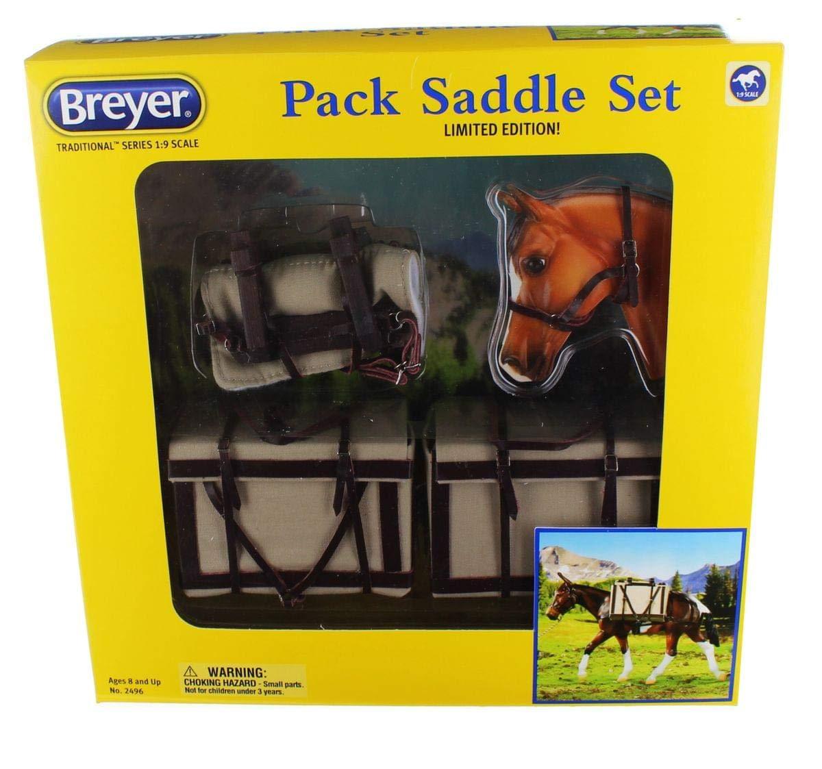 Breyer Traditional (1 9) 2496 - Packsattel mit Tragekörben limitierte Sonderotition (ohne Muli)