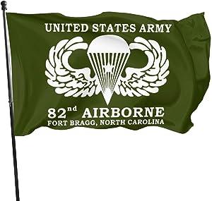 US Army 82nd Airborne Fort Bragg North Carolina Outdoor Flag Home Garden Flag Banner Breeze Flag USA Flag Decorative Flag 3x5 Ft Flag
