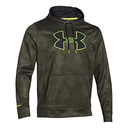 Stylish Under Armour Storm Armour Fleece Logo Hoodie Black/Stealth Grey For Women Online Sale