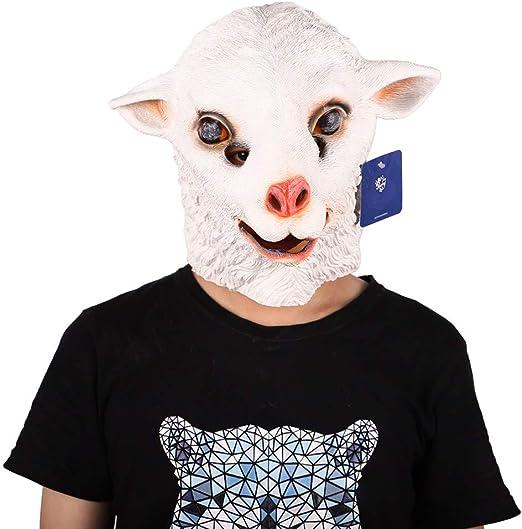 CONRAL Novedad Fiesta de Disfraces de Halloween Látex Máscara de ...