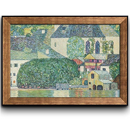Church in Unterach on The Attersee by Gustav Klimt Framed Art