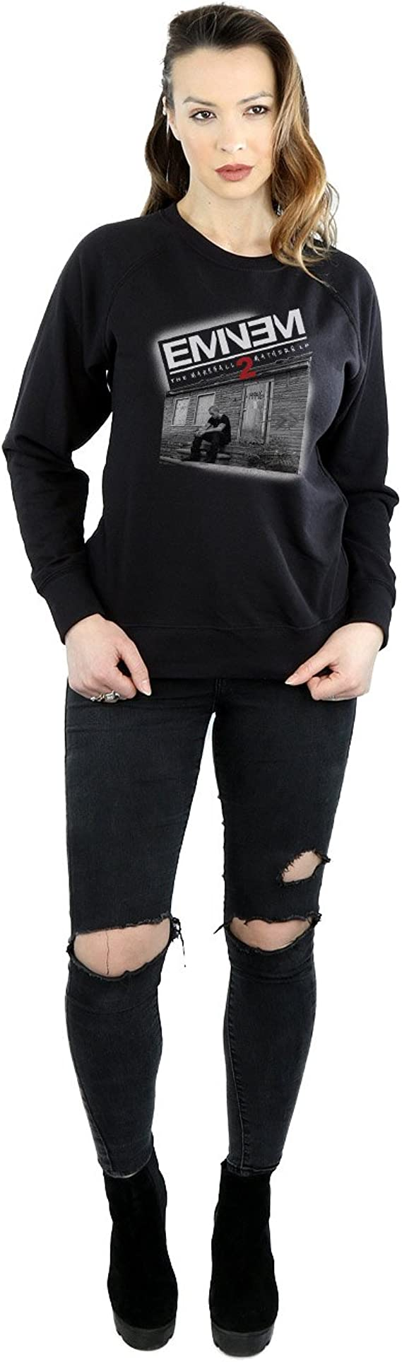 Eminem Mujer Marshall Mathers 2 Camisa De Entrenamiento ...