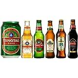 【WEB限定】青島ビール 飲み比べギフトBOX 全6種類 [ 中国 1946ml /6本 ] 勤労感謝の日 クリスマス プレゼント 誕生日 ギフト
