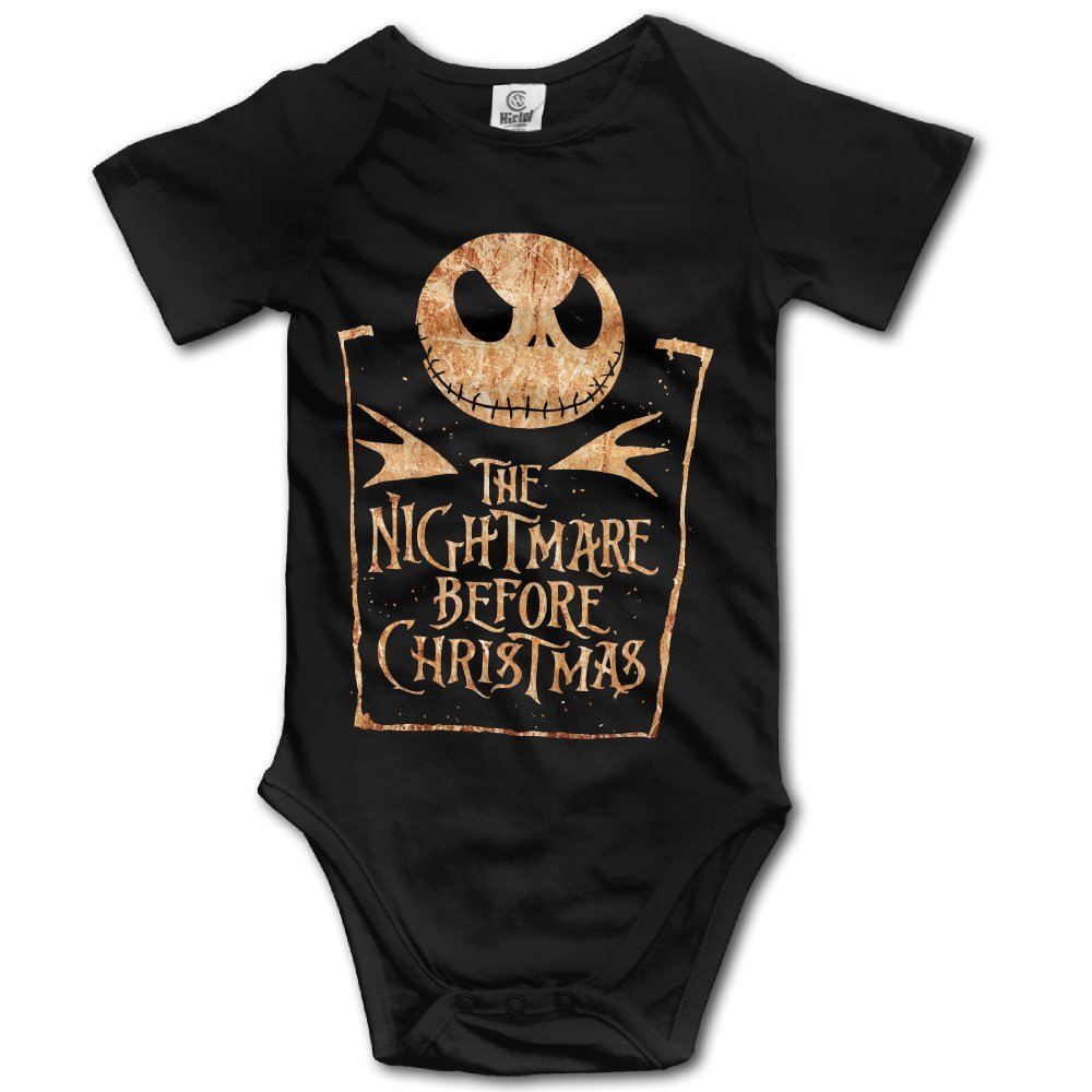 Black Baby's The Nightmare Before Christmas Romper Jumpsuit