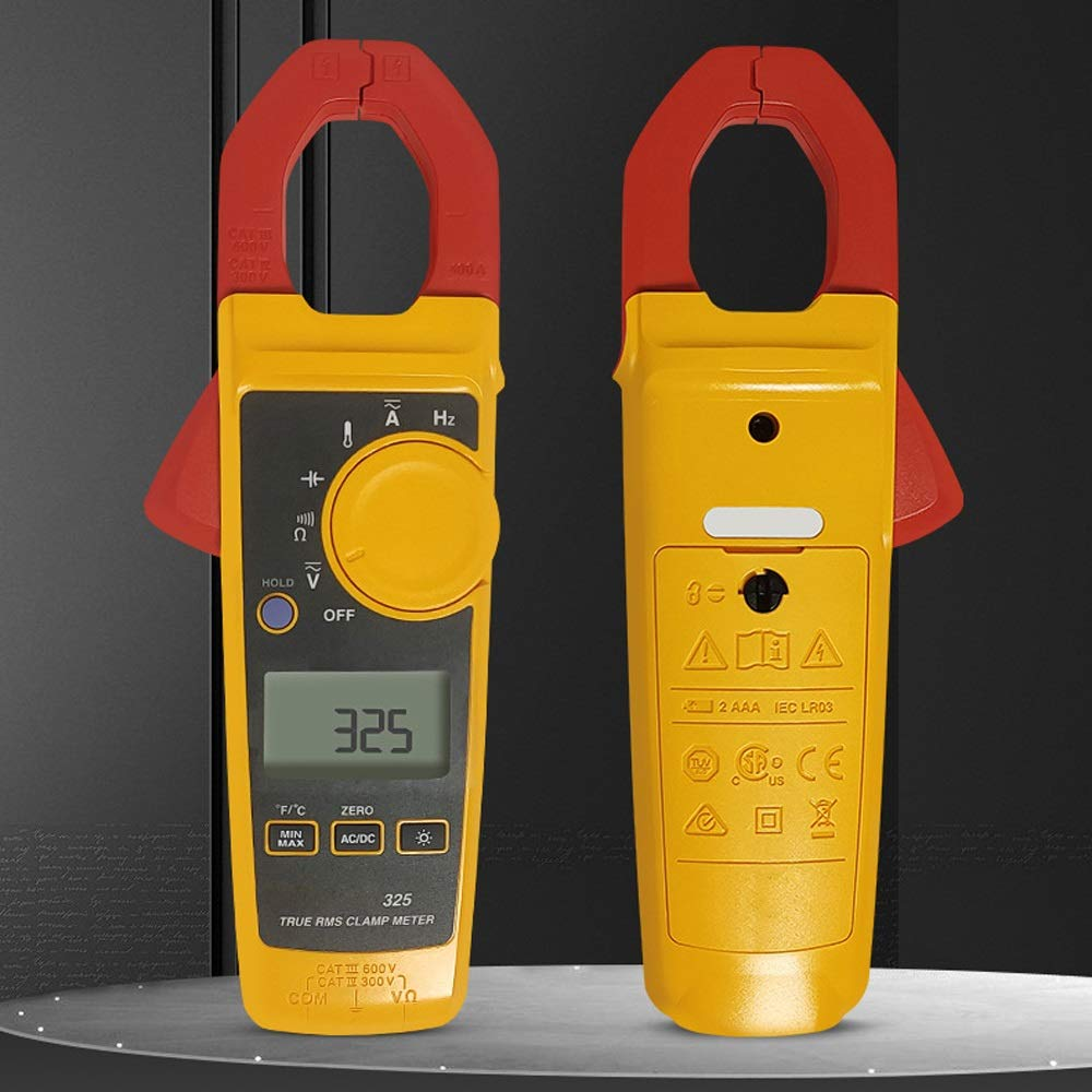 Digital Multimeter 323 True-RMS Clamp Meter Clamp Multimeter AC-DC TRMS Tester With Case 400A 600V Electrical Maintenance YLYHQUS