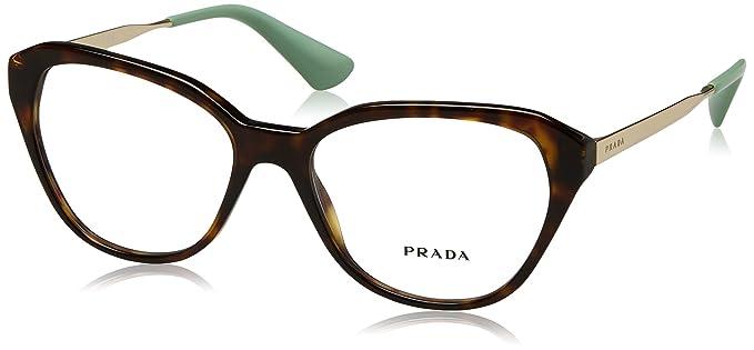 PRADA Prada Damen Brille »CINEMA PR 28SV«, braun, 2AU1O1 - braun