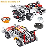 Image of Building Blocks Toys RC Car Educational Construction Engineering Building Truck Set for 6 Year Old Boy, Creative 2 in 1 Top Children's Day Gift