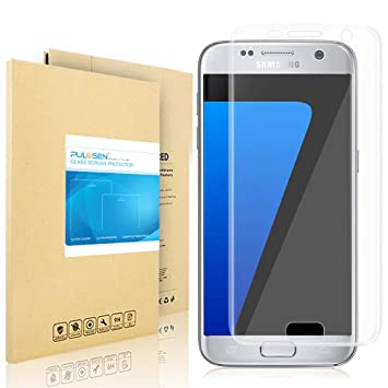 2e0790b6cc4581 Galaxy S7 Screen Protector, PULESEN® Samsung Galaxy S7: Amazon.co.uk ...
