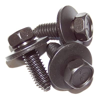 "25 Qty-5/16-18 x 1"" Body Bolt Indented Hex With Free Spinning 7/8"" Washer(11320): Automotive"