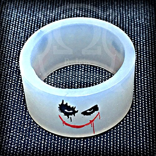 MOD SHIELD ByJojo 18mm Band Silicone Bumper Protective Ring Bands Cover (Joker (4-Pack))