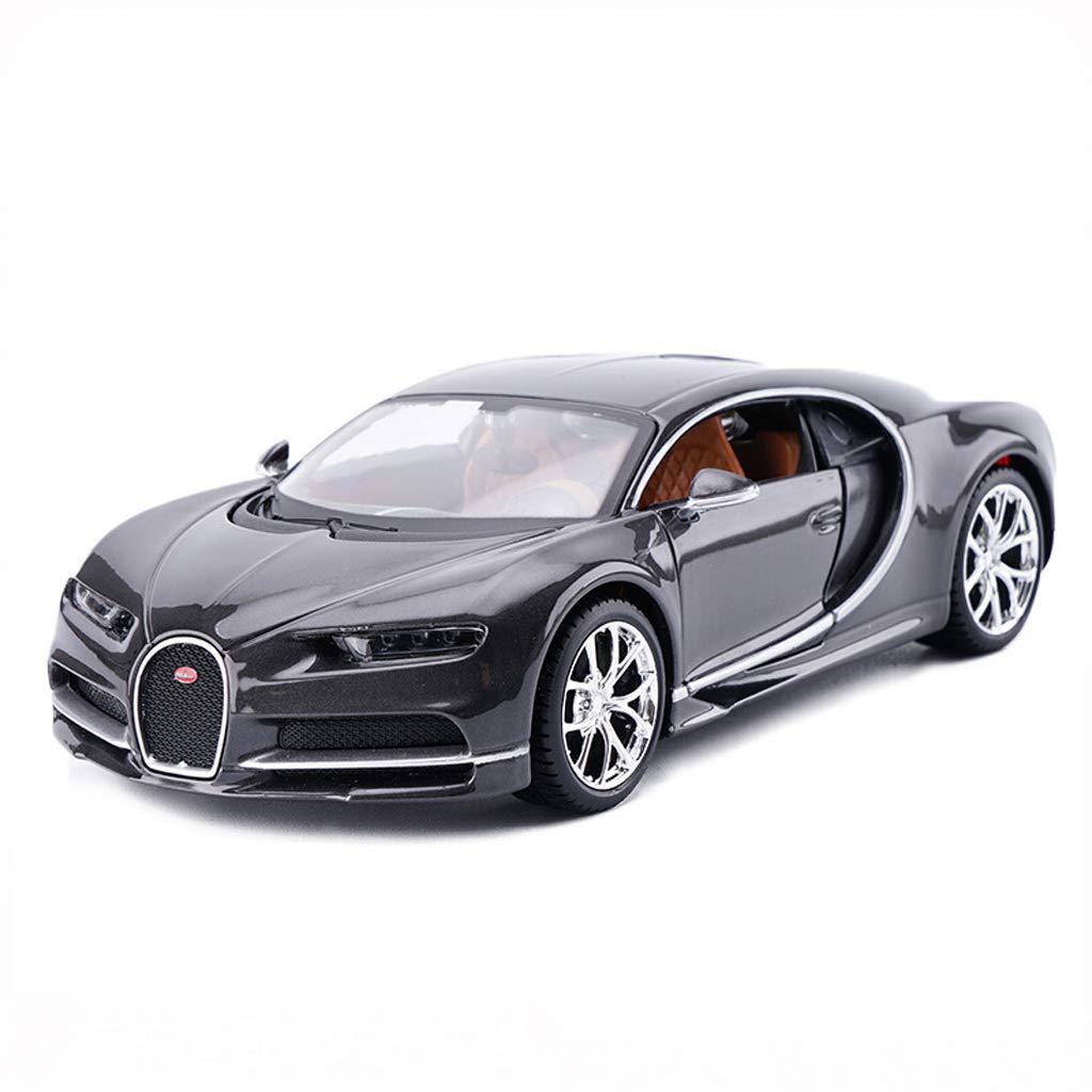 DUWEN Modello Car Bugatti Veyron Modello di Auto 1 24 Emulazione Modello di Auto Sportiva in Lega Giocattolo Modello di Auto Collezione Ornamenti Regalo