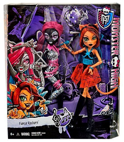 Monster High Fierce Rockers Catty Noir and Toralei Exclusive (Monster High Catty Noir)