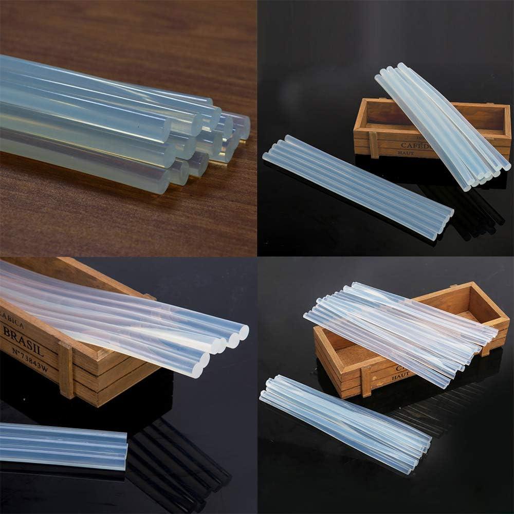 Stick di Colla a Caldo Trasparenti Stick di Colla Standard /Ø7 mm Stick di Colla Trasparenti 15 pezzi 7 x 270 mm Stick di Colla a Caldo Universali Stick di Colla per Pistole per Colla a Caldo