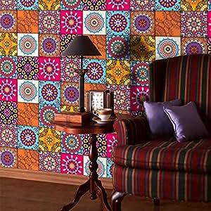 Amazon.com: Feccile - Adhesivo mural mural mexicano de PVC ...