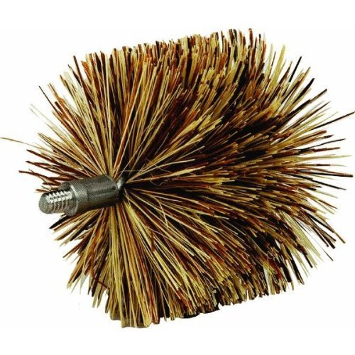 4 inch brush pellet stove - 6
