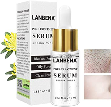 Lanbena Pore Skin Care Serum Facial Essence For Shrinking Pores