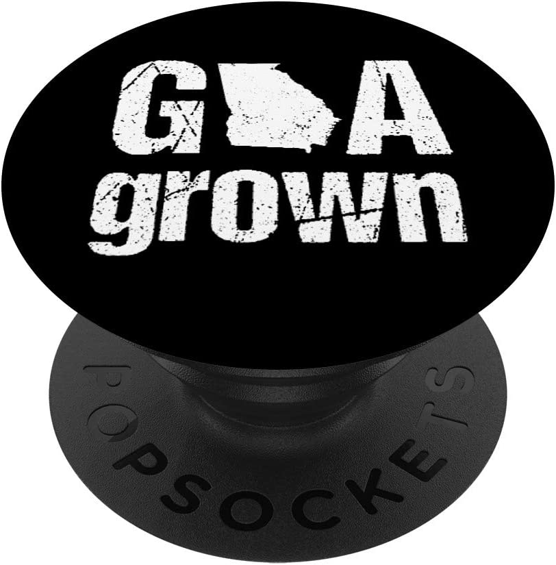 Georgia Vintage GA State Grown Home Gift PopSockets Grip and Stand for Phones and Tablets