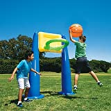 Big Play Sports Jumbo Inflatable Pool Basketball Hoop Set w/ Ball | KF0062000167