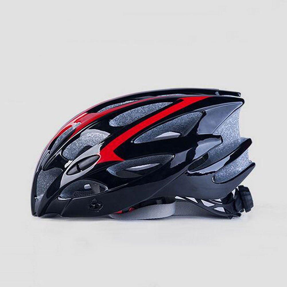 RAQ Casque Extérieur Casque de Vélo EPS Léger Confortable À La Mode Ventilé Sécurité Quatre Saisons Casque Neutre Convient pour la circonférence de la tête (57-62CM) (Couleur : A)