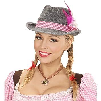 Sombrero típico alemán a la moda para dama  1590791616b