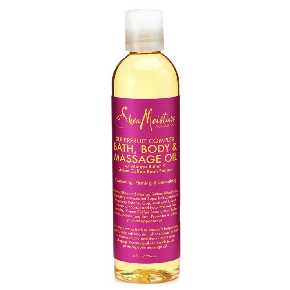 SheaMoisture 8 oz SuperFruit Complex Bath, Body & Massage Oil