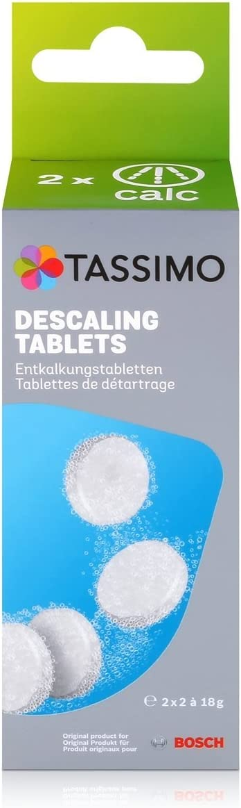 Tassimo Bosch Coffee Machine Descaling/Decalcifying Tablets