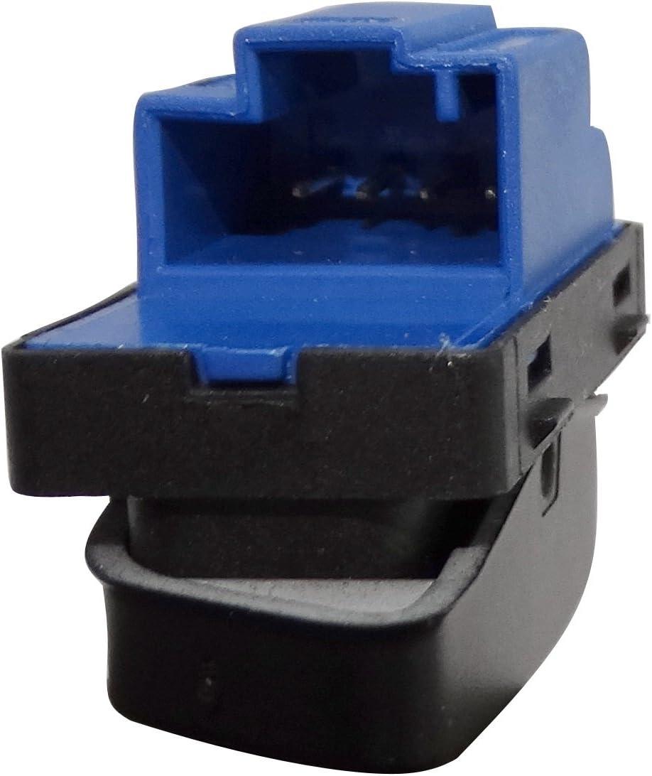 Aerzetix 1KD962125 Interruttore a pulsante chiusura//apertura bloccaggio centrale per porta destra anteriore compatibile con 1K0962125B