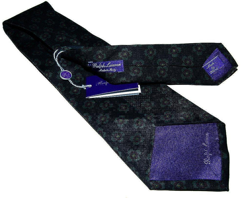 Ralph Lauren Polo Corbata de seda para hombre, diseño floral ...