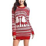Damen Weihnachtsmann drucken Lässiger Minirock YunYoud damen abendkleider  schöne damenrock partykleider damenkleid neue stylische miniröcke 914d055090