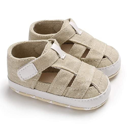 dac90824b0809 Amazon.com: Luonita Baby Boys Bandage Soft Sole Sandals Shoes for ...