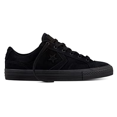 UK Outlet  Converse Star Player Oxford Black Mens Trainers