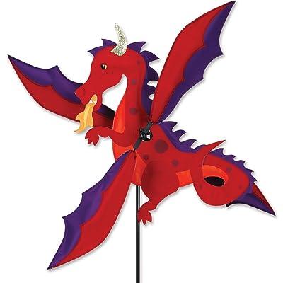 Premier Kites Whirligig Spinner - Dragon Spinner : Wind Spinners : Garden & Outdoor