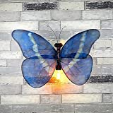 Industrial Wind Butterfly Wall Light Vintage Hose Lighting Bar Internet Cafe Corridor Personal Effects Decorative Wall Light