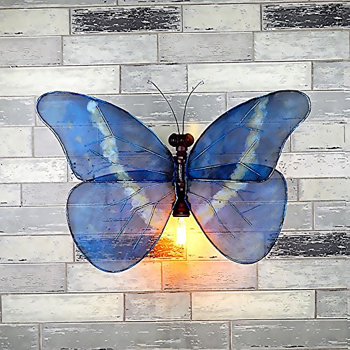 Industrial Wind Butterfly Wall Light Vintage Hose Lighting Bar Internet Cafe Corridor Personal Effects Decorative Wall Light by JYKJ