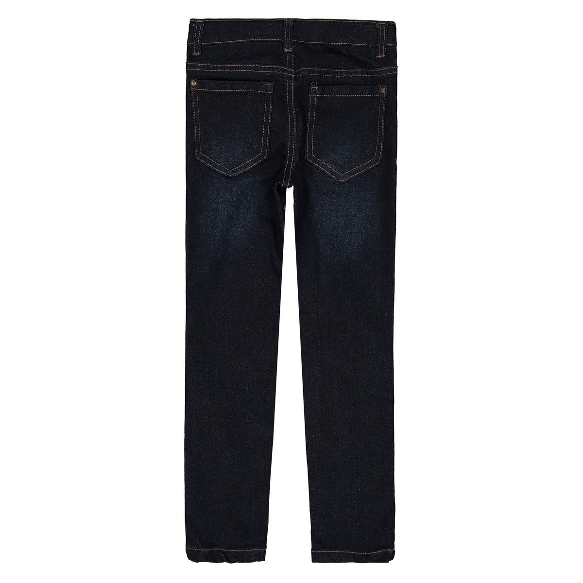 La Redoute Collections Big Boys Slim Fit Jeans for Fuller Fit 3-12 Years Blue Size 6 Years 44 in.