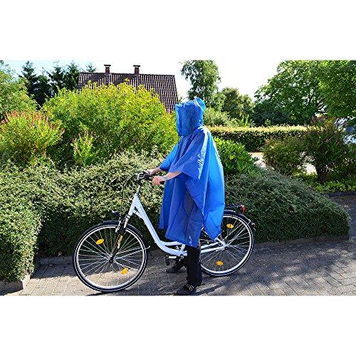 Filmer 46851 Poncho de pluie Bleu