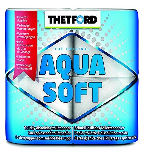33 opinioni per THETFORD 20127 Aqua Soft, 4 Rotoli